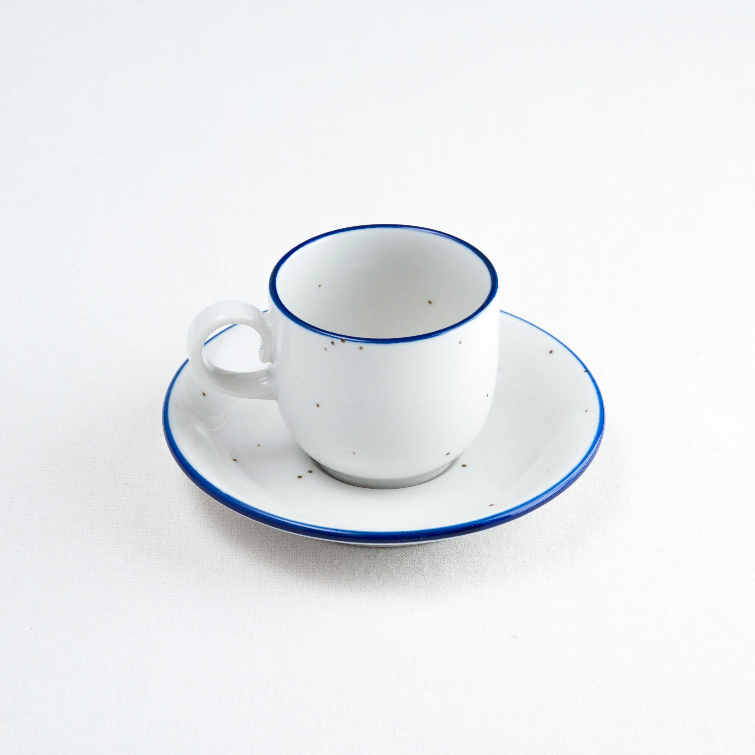 Shemoa Blue コーヒーカップ